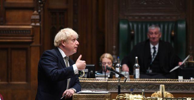 Boris Johnson.  Jessica Taylor / TT NYHETSBYRÅN