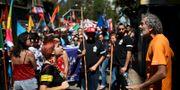 En demonstration för lättade migrationslagar i Chile tidigare i år.  Esteban Felix / TT NYHETSBYRÅN/ NTB Scanpix