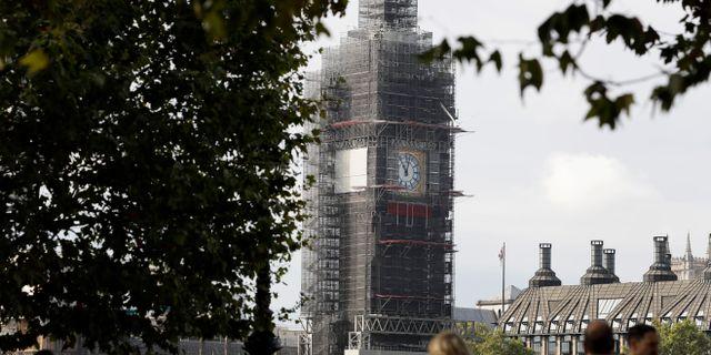 Big Ben i London. Arkivbild. Kirsty Wigglesworth / TT NYHETSBYRÅN