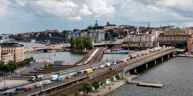 Centralbron i Stockholm. Christine Olsson/TT / TT NYHETSBYRÅN