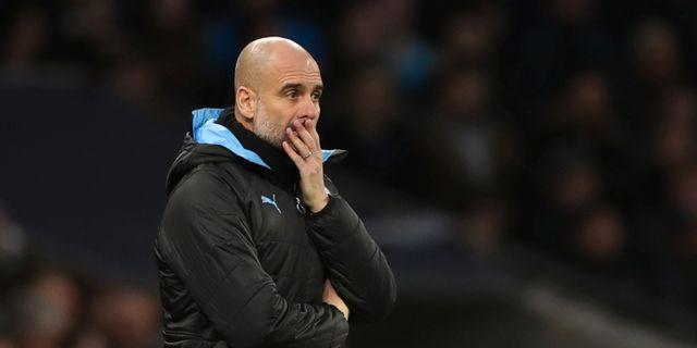 Manchester Citys tränare Pep Guardiola. DAVID KLEIN / TT NYHETSBYRÅN