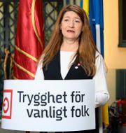 LO:s ordförande Susanna Gideonsson. Henrik Montgomery/TT / TT NYHETSBYRÅN