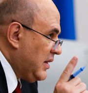 Rysslands premiärminister Michail Misjustin. Dmitry Astakhov / TT NYHETSBYRÅN