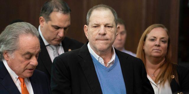Weinstein vid häktningsförhandlingarna i New York. Steven Hirsch / TT / NTB Scanpix