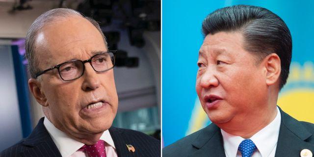 Larry Kudlow/Xi Jinping AP/TT