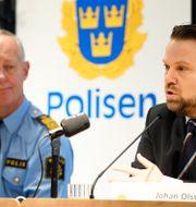 Johan Olsson till höger. Henrik Montgomery/TT / TT NYHETSBYRÅN