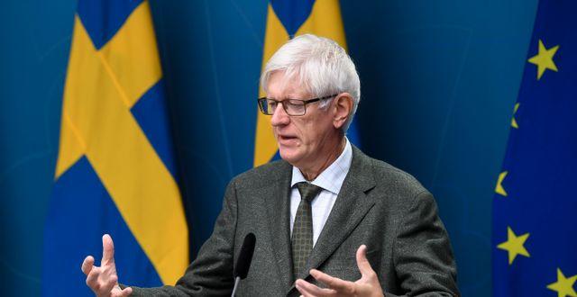 Johan Carlson Fredrik Sandberg/TT / TT NYHETSBYRÅN