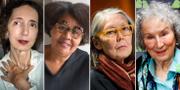 Joyce Carol Oates, Jamaica Kincaid, Anne Carson och Margaret Atwood.  TT