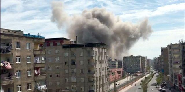 Ett rökmoln sys efter explosionen på en bild som hämtats från en video, och som distribueras av Reuters. REUTERS TV / TT NYHETSBYRÅN