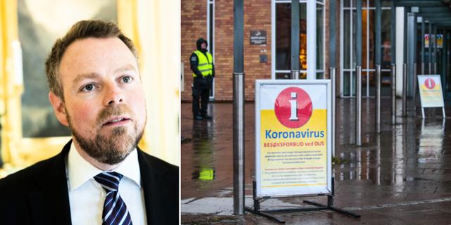 """Torbjørn Røe Isaksen: """"Många har blivit arbetslösa, det slår socialt skevt."""" Berit Roald/TT"""