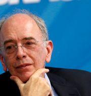 Petrobras vd Pedro Parente under ett möte i mitten av december.  ADRIANO MACHADO / TT NYHETSBYRÅN