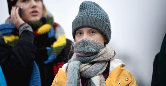 Greta Thunberg. Arkivbild. Pontus Lundahl/TT / TT NYHETSBYRÅN