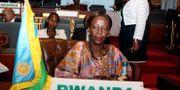 Utrikesminister Louise Mushikiwabo (arkivbild) AHMED OULD MOHAMED OULD ELHADJ / AFP