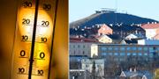 Termometer och Kiruna. TT.