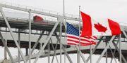 Gränsen mellan USA och Kanada.  Paul Sancya / TT NYHETSBYRÅN