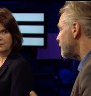 Ewa Stenberg och Tomas Ramberg SVT/Skärmdump