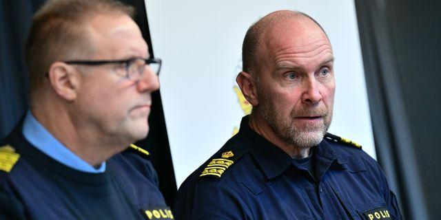 Stefan Hector t.h.  Johan Nilsson/TT / TT NYHETSBYRÅN