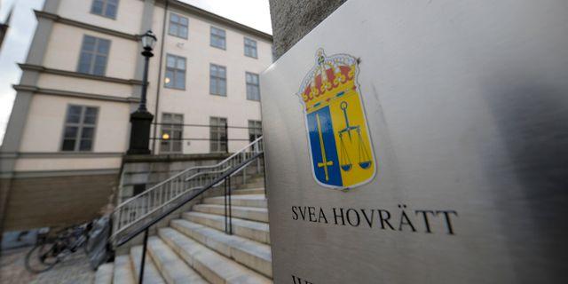 Arkivbild på Svea hovrätt.  LEIF R JANSSON / TT / TT NYHETSBYRÅN