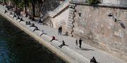 Seine i Paris.  Francois Mori / TT NYHETSBYRÅN