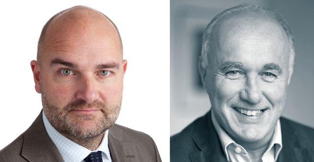 Peter Larsson och Wilhelm Wohlfahrt.