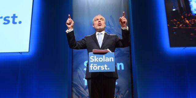 L-ledaren Jan Björklund. Fredrik Sandberg/TT / TT NYHETSBYRÅN