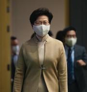 Xi Jinping / Hongkongs ledare Carrie Lam TT