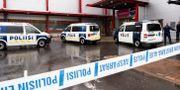 Polisinsats i samband med attentatet Hannu Rainamo / TT NYHETSBYRÅN