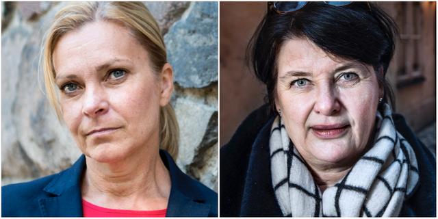 Lena Nitz och Heike Erkers. TT
