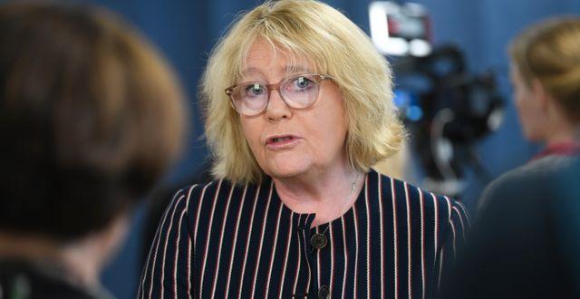 Irene Svenonius, Fredrik Sandberg/TT / TT NYHETSBYRÅN