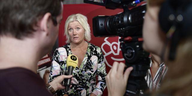 Lena Rådström Baastad (S). Stina Stjernkvis/TT / TT NYHETSBYRÅN