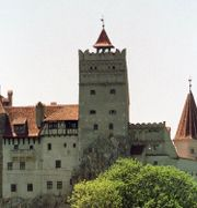 Slottet Bran i Rumänien. EUGENIU SALABASEV / TT / NTB Scanpix