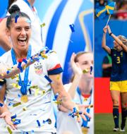 Bilder från sommarens VM.  Bildbyrån