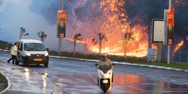 Nu evakueras fransmannen