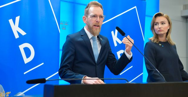Jakob Forssmed/Ebba Busch Thor. Henrik Montgomery/TT / TT NYHETSBYRÅN