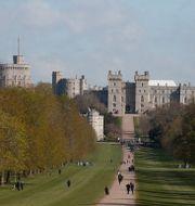 Windsor Castle på tisdagen Alastair Grant / TT NYHETSBYRÅN