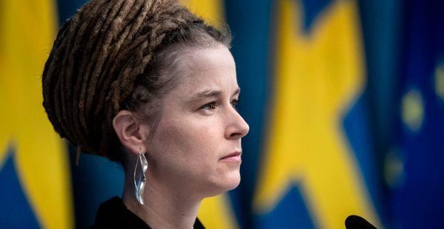 Amanda Lind (MP) Christine Olsson/TT / TT NYHETSBYRÅN