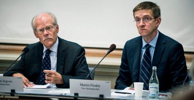 Martin Flodén, till höger.  Lars Pehrson / SvD / TT / TT NYHETSBYRÅN
