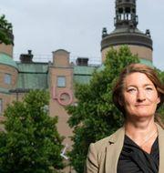LO:s ordförande Susanna Gideonsson Sören Andersson.