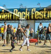 Festivalentrén 2018. Claudio Bresciani/TT / TT NYHETSBYRÅN