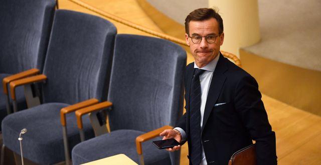 Ulf Kristersson (M) Pontus Lundahl/TT / TT NYHETSBYRÅN