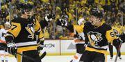 Sidney Crosby och Jake Guentzel Justin Berl / GETTY IMAGES NORTH AMERICA