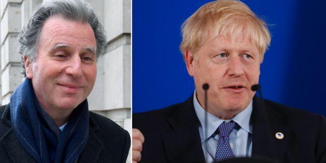 Oliver Letwin och Boris Johnson. Arkivbilder. TT