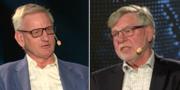 Carl Bildt och Björn von Sydow. Saab