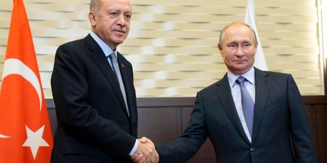 Erdogan och Putin. Sergei Chirikov / TT NYHETSBYRÅN