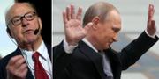 Hans Blix, Vladimir Putin. TT
