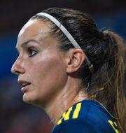 Kosovare Asllani. JEAN-PIERRE CLATOT / AFP