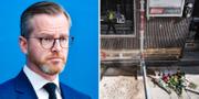 Inrikesministern Mikael Damberg. Arkivbilder. TT