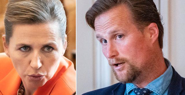 Danmarks statsminister Mette Frederiksen/Carl Johan Sonesson. TT