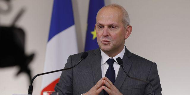 Jérôme Salomon, generaldirektör för Frankrikes hälsomyndighet. GEOFFROY VAN DER HASSELT / TT NYHETSBYRÅN