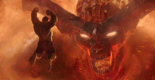 Bild från filmen Thor: Ragnarok.  TT NYHETSBYRÅN